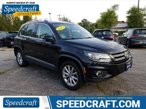 Certified Pre-Owned 2017 Volkswagen Tiguan 2.0T SEL 4Motion